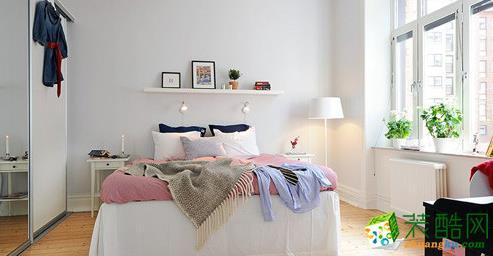 卧室  松原福康装饰-北欧一室装修效果图