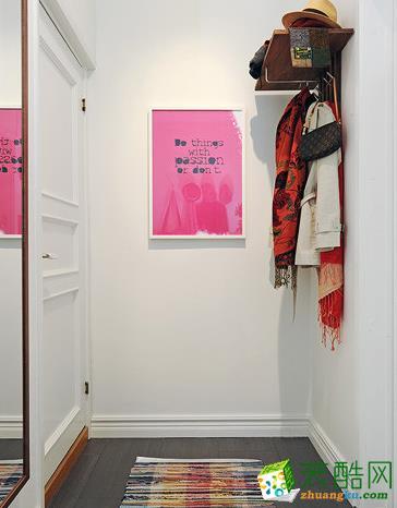 客厅  松原福康装饰-北欧一室装修效果图