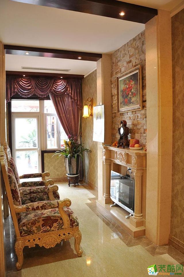 """欧式风格145平米装修:让贵族生活""""长""""在家里--金煌装饰"""