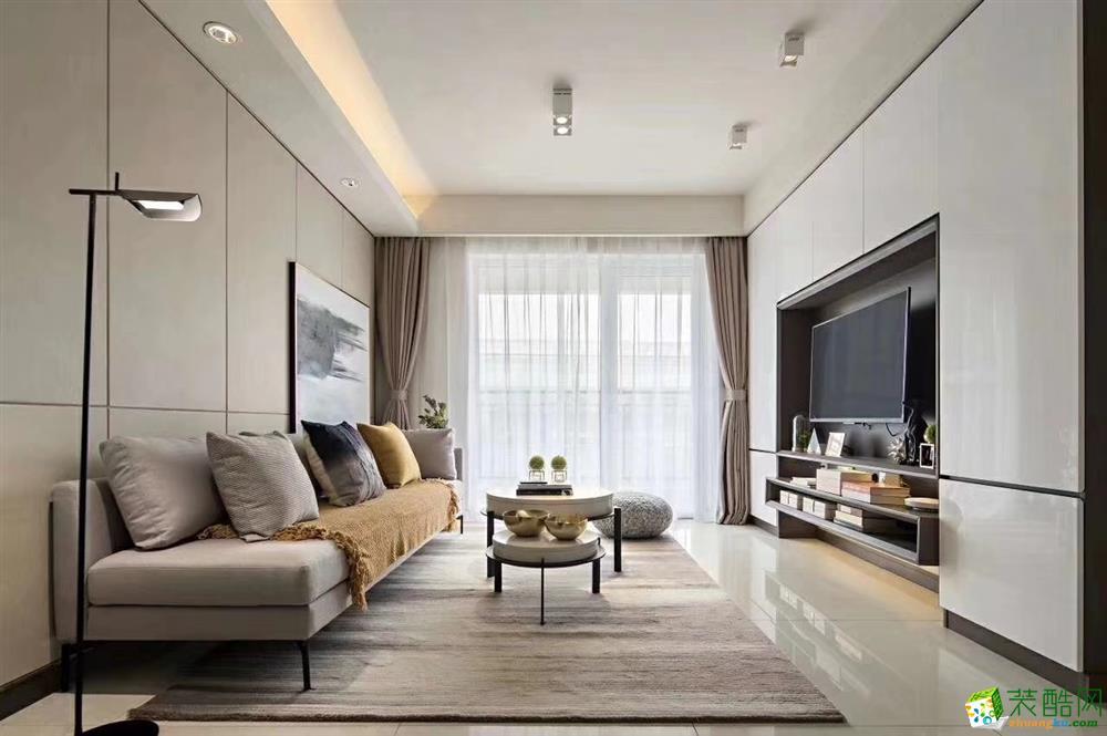 客厅  豪迪装饰―鑫城宜居89平北欧风格