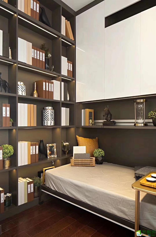 书房  豪迪装饰―鑫城宜居89平北欧风格