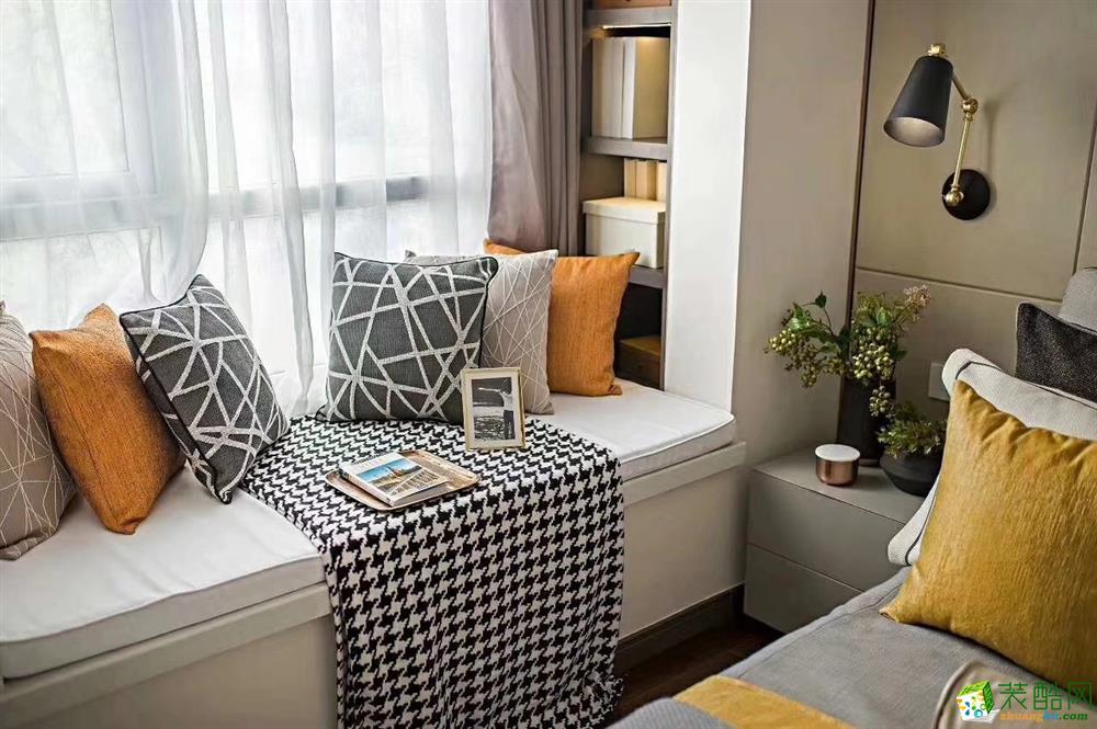 卧室  豪迪装饰―鑫城宜居89平北欧风格