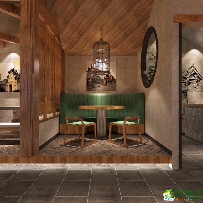 品案设计―美食城300方店铺装修设计