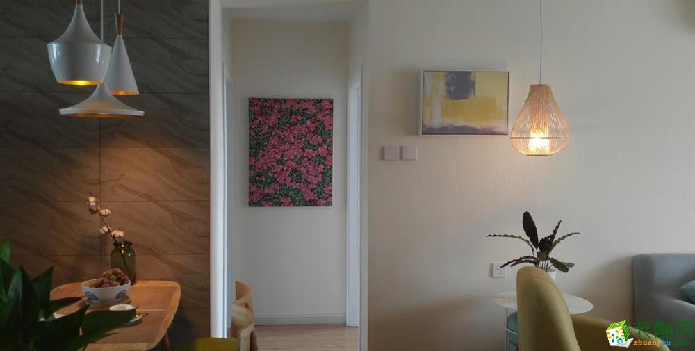 客厅  云南良策装饰-90�O简约两居室装修