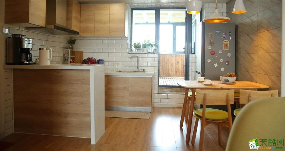 厨房  云南良策装饰-90�O简约两居室装修