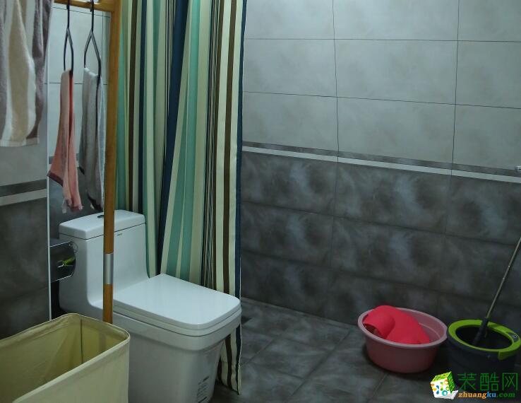 卫浴  云南良策装饰-90�O简约两居室装修