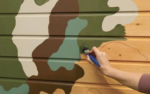 《儿童房装饰用水性木器涂料》图片
