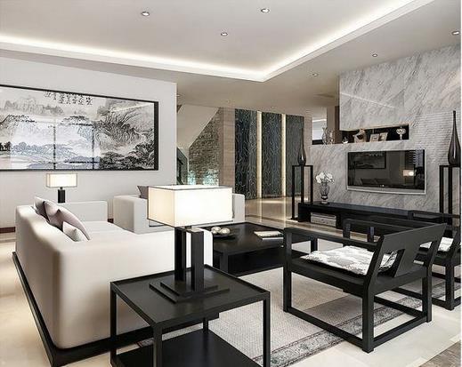 65平小户型客厅,餐厅装修预算