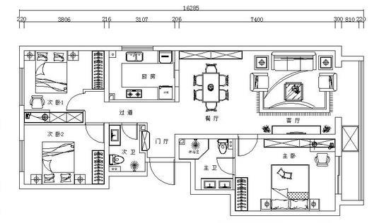 150平房屋全包多少钱?55万精装新中式算不算贵?