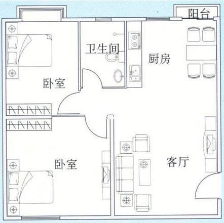 70平米两室一厅装修多少钱?3万基装70平装修预算表