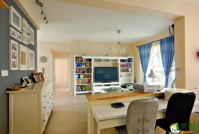 三室两厅装修预算是多少?80平家装报价10万北欧风实景案例