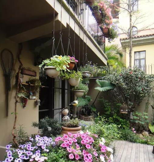 入户花园装修怎么做?功能与美貌一个不能少!
