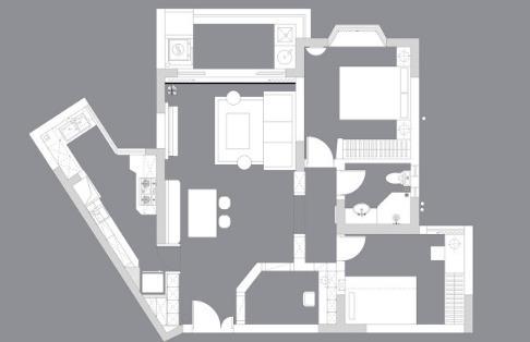 78平米房精装需多少钱?18万精装78平美式实景分享