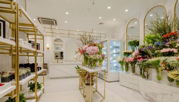 60平米精致花店装修分享图片