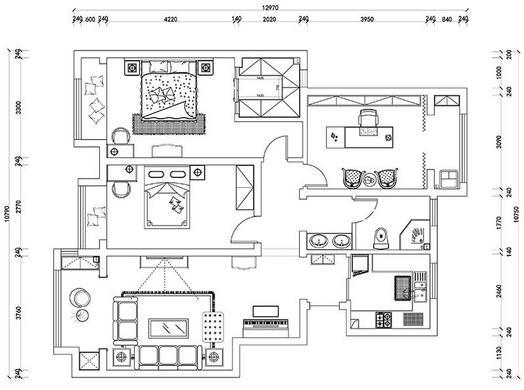 120平方基础装修多少钱?详细三居室半包基装预算清单