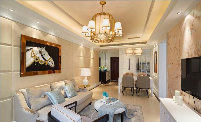 欧式风格装修要多少钱?三居室基装6万预算表