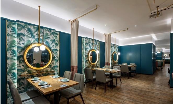 特色中餐厅装修设计怎么做?350平海派菜餐厅装修分享