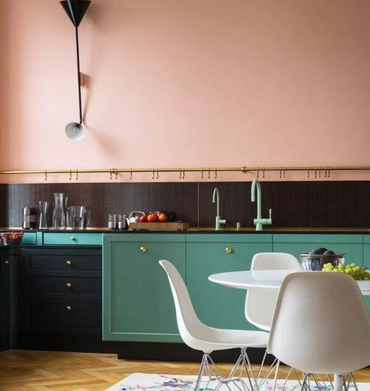 2018厨房三大流行装修趋势,打破常规厨房装修也要美