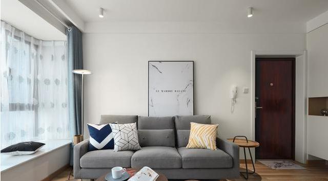 67极简主义北欧风装修怎么做?15万97平两居室北欧风