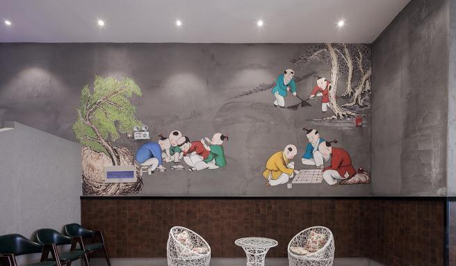 500平米火锅店装修多少钱?36万打造简约时尚火锅店分享