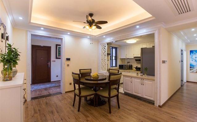 装修日记:19万全包146平米三居室装修案例分享