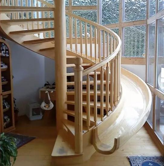 看腻了千篇一律的复式楼梯装修?试试这些创意楼梯设计