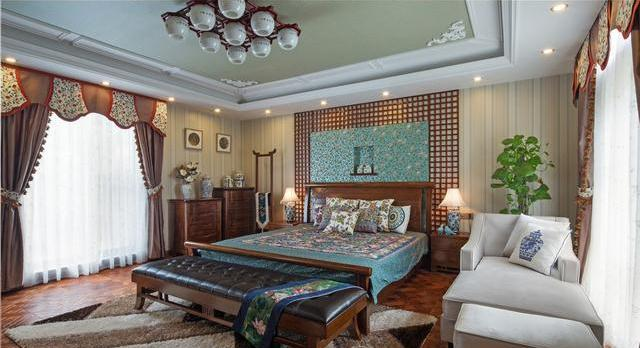 160万豪装新中式别墅分享