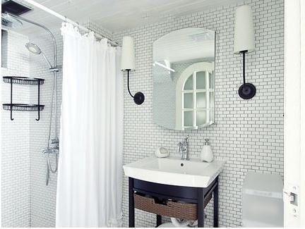 玻璃隔断好还是浴帘好?卫浴各大装修难题全解决
