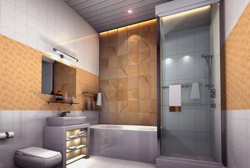 卫生间没窗户采光差怎么办?合理装修变敞亮