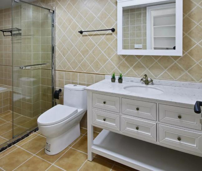 卫生间瓷砖怎么搭才合理?瓷砖色彩款式都重要