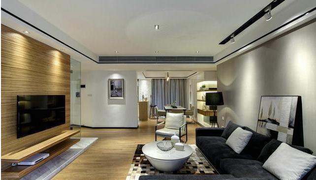装修日记: 120平原木风三居室装修,17万全包温馨时尚