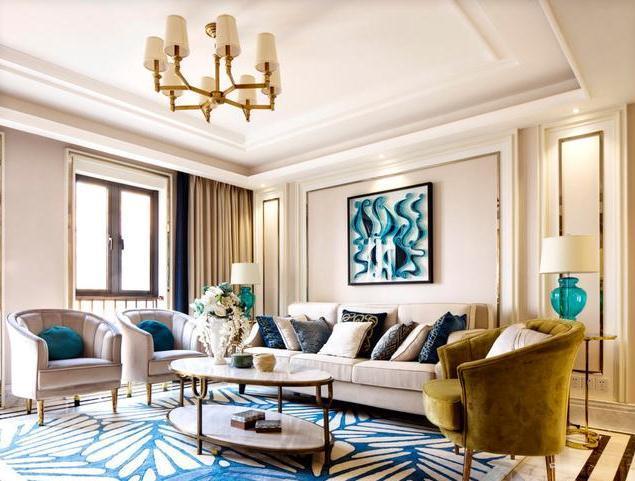 140平三居室装修多少钱?25万全包奢华混搭风装修