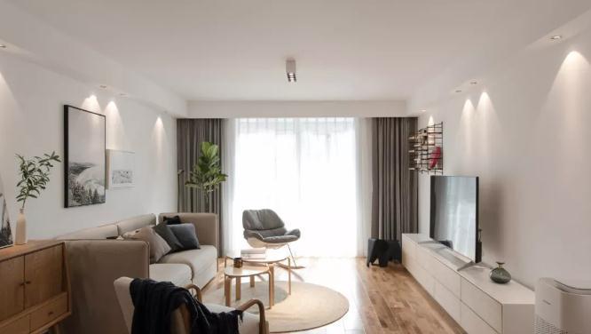 110平北欧风装修要多少钱?20万全包三室温馨实景图装修