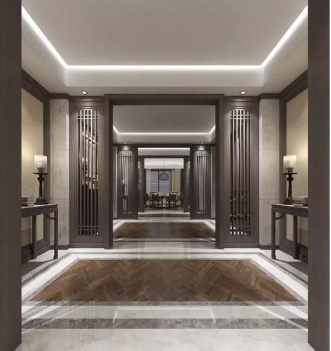 67新中式走廊该怎么装修?10款走廊设计实景图参考图片