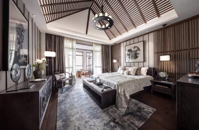 新中式别墅装修怎么做?280平典雅中式小别墅装修实景图