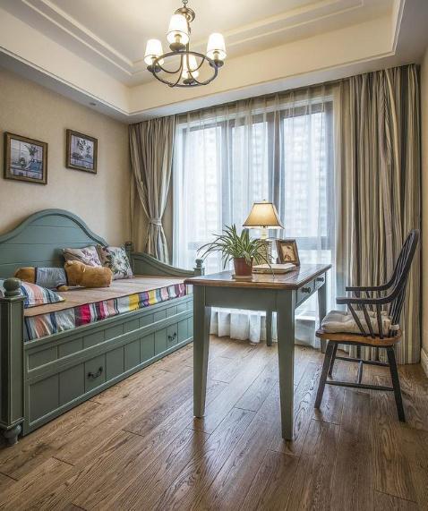150平复古美式装修多少钱?28万全包四居室大宅