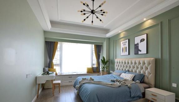 180平北欧大平层装修多少钱?49万全包四居室实景图装修
