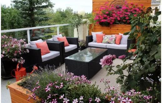 如何打造露台花园,选对植物很重要