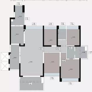 189平简美风装修怎么做?简约美式大宅装修分享