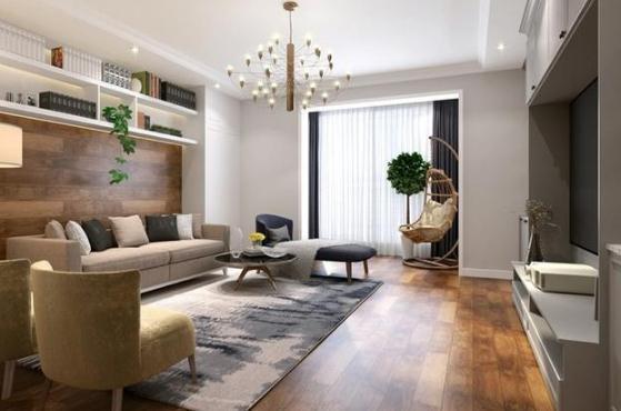 140平现代风大宅怎么装修设计?140平三居室装修实景图