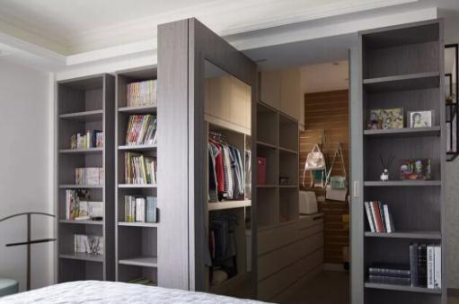 新房装修用衣柜当隔墙好不好?衣柜当墙要慎重