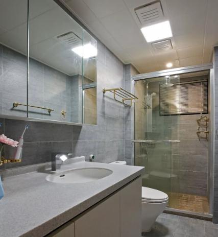 89平现代风装修多少钱?20万现代89平两居室效果图