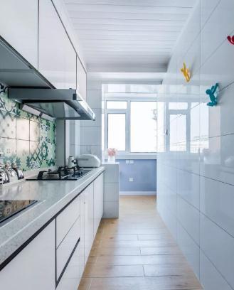 70平小户型北欧风装修多少钱?15万全包浪漫小两居