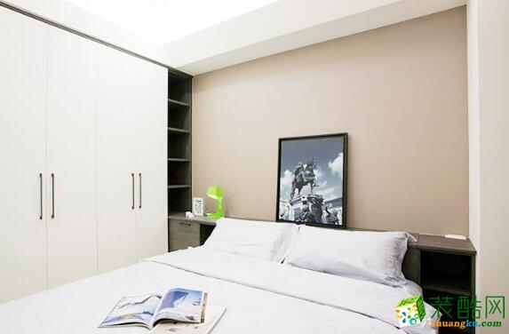 卧室 主卧效果图 昆明莱阁装饰-100平现代二居室