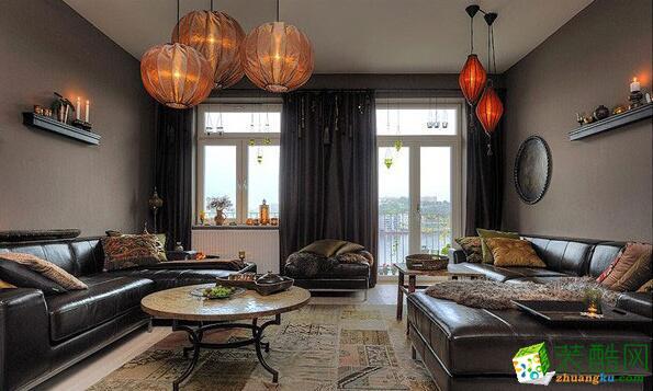 云南昆仑装饰-145平新古典风格公寓_古典风格-四室两厅两卫