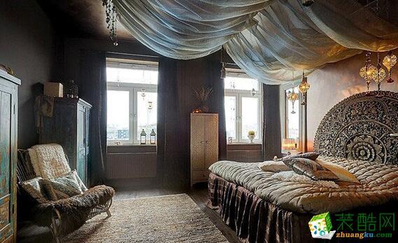 卧室 主卧效果图 昆仑装饰-145平新古典风格公寓