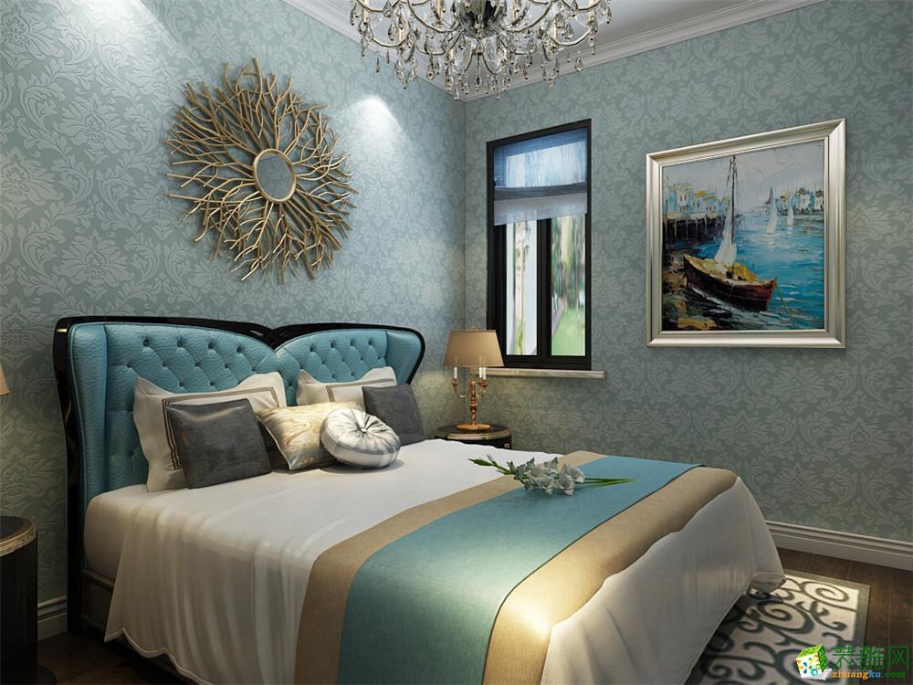 卧室  【力天装饰】团泊湖鸿雁岛-143㎡-欧式风格