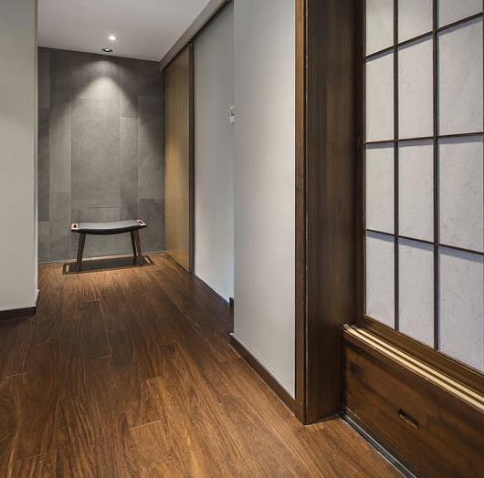 104平日式混搭装修日记分享,20万四居室时尚装修案例